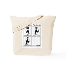 Dangerous Penguins Tote Bag
