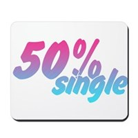 50% Single Mousepad