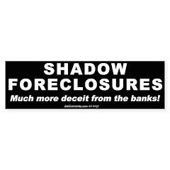 Shadow Foreclosures (Bumper 50 pk)