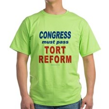 Tort Reform 2-Sided T-Shirt