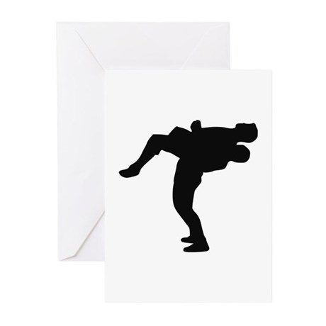 Wrestling Greeting Cards (Pk of 20)