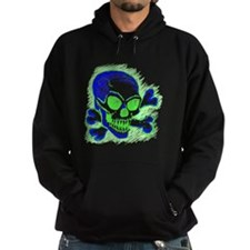 Unique Skull on the back of Hoodie