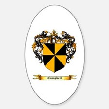 Campbell Shield Oval Decal