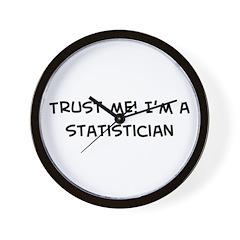 Trust Me: Statistician Wall Clock