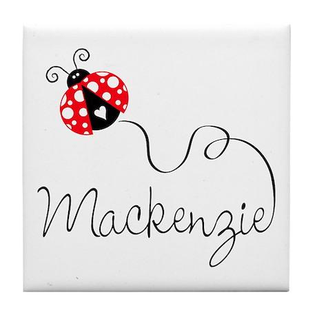 Ladybug Mackenzie Tile Coaster