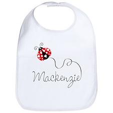 Ladybug Mackenzie Bib