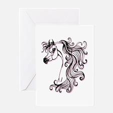 Fantasy Arabian Horse Greeting Card
