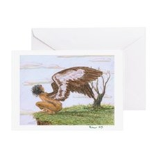 Jessica's Shearwater: Greeting Card