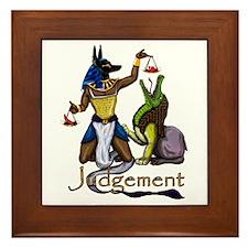Judgement Framed Tile