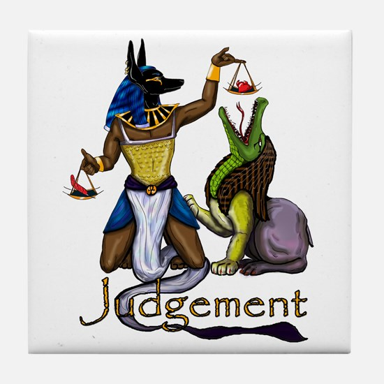 Judgement Tile Coaster