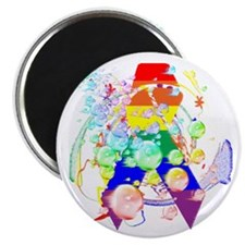 "Pride Awareness & Support 2.25"" Magnet (10 pack)"