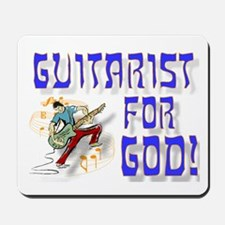 Christian Guitar For God Mousepad