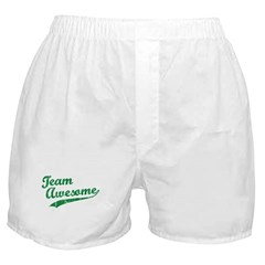 Team Awesome Boxer Shorts
