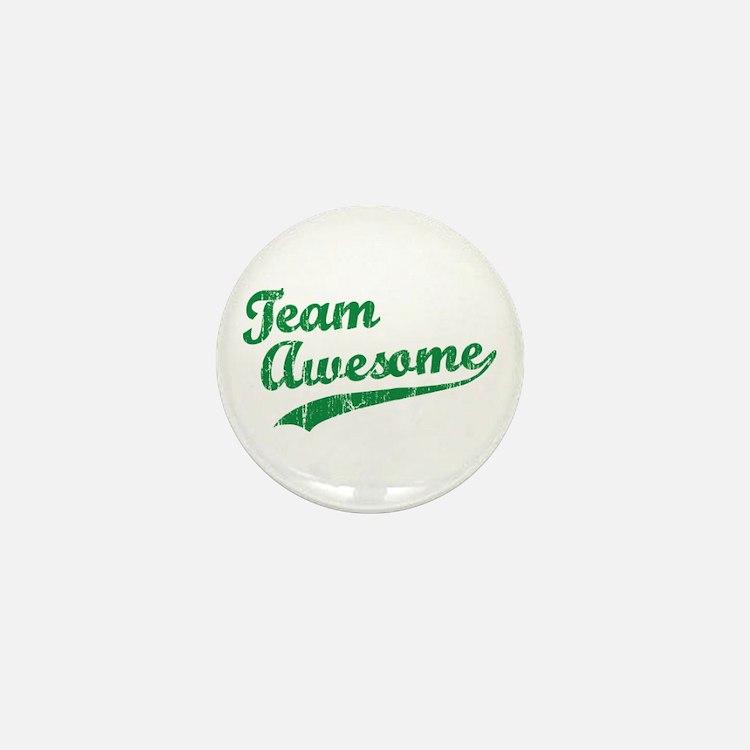 Team Awesome Mini Button
