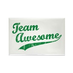 Team Awesome Rectangle Magnet