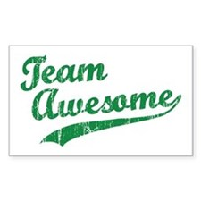 Team Awesome Rectangle Bumper Stickers