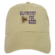 Christian Guitar For God Baseball Cap