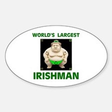 BIG AND BEAUTIFUL Oval Decal