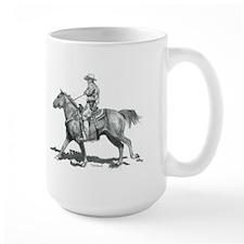Cowboy Mounted Shooting Mug