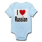 I Love Russian Infant Creeper