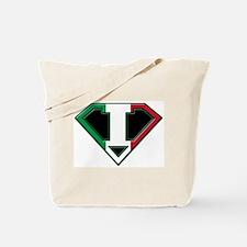 Italian superman Tote Bag