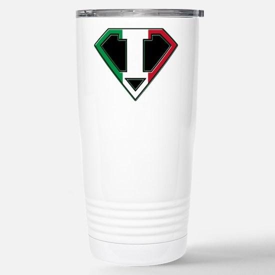 Italian superman Stainless Steel Travel Mug