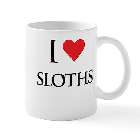 I Love Sloths Mug