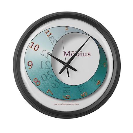 Moebius Large Wall Clock