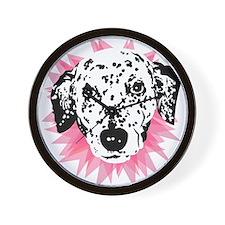 Cute Dog cookie Wall Clock