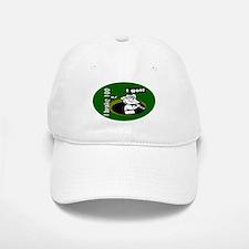 I Golf Baseball Baseball Cap