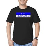 I Love Obamacare Men's Fitted T-Shirt (dark)