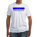 I Love Obamacare Fitted T-Shirt