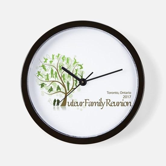 Tuteur Reunion 2017 logo Wall Clock