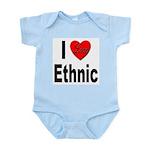 I Love Ethnic Infant Creeper
