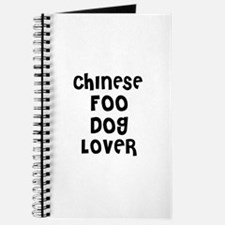 CHINESE FOO DOG LOVER Journal