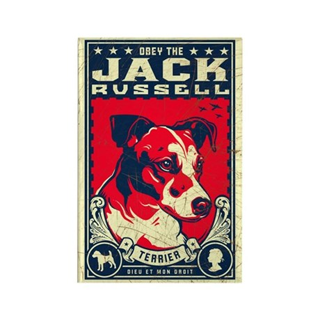 Obey the Jack Russell Terrier! Magnet