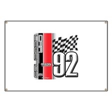 Mustang 1992 Banner