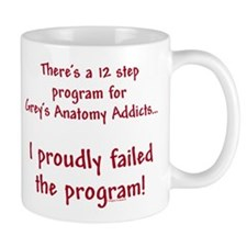 12 Step Greys Anatomy Program Mug