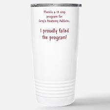 12 Step Greys Anatomy Program Travel Mug