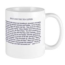 Jesus and the Ten Lepers Mug