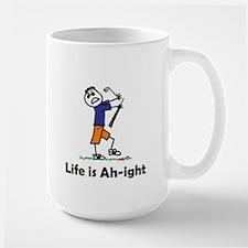 life is...golf Large Mug