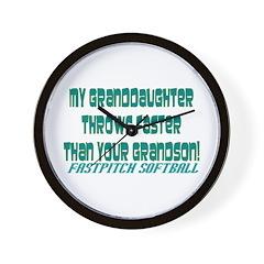 My Granddaughter Wall Clock