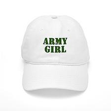 Army Girl Baseball Cap