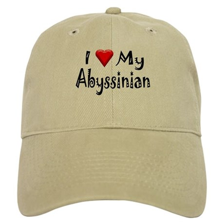 Love My Abyssinian Cap