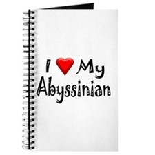Love My Abyssinian Journal