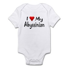 Love My Abyssinian Infant Creeper