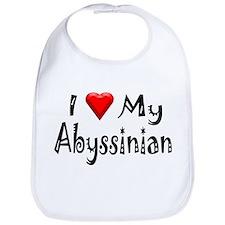 Love My Abyssinian Bib