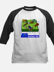 North Dakota Map Tee