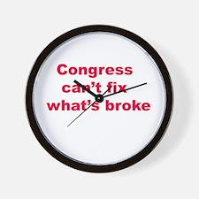 congress pathetic Wall Clock