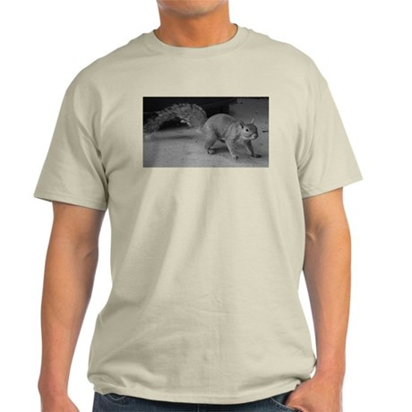 Squirrel Close Up Light T-Shirt